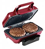 American Originals EK2005 Hot Grill Burger Maker for Fun Cooking