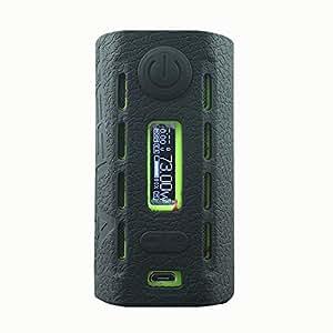 Ruiyitech Modshield pour Teslacigs Wye200W Mod Coque en silicone Skin Cover Sleeve Wrap Shield noir