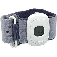 Termómetro médico del bebé Digital, termómetro elegante de Stoga con Bluetooth 4.0 para la supervisión interior y al aire libre de la temperatura del bebé Compatible con IOS y dispositivos androides