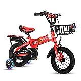 CXYGSJJ Vélo pour Enfant De 16 Pouces pour Filles Âgées De 3 À 8 Ans, Vélo...