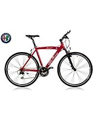 Bicicleta Alfa Romeo Stratocaster Dale Touring Rojo