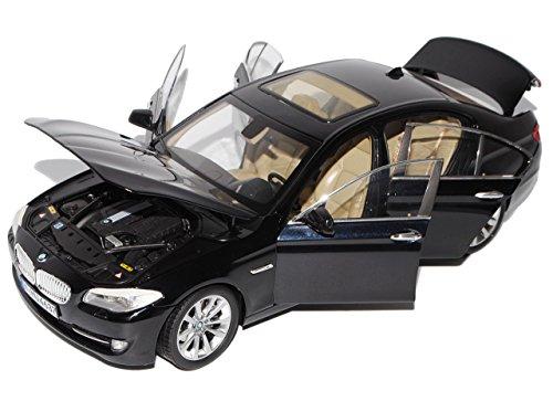 Preisvergleich Produktbild BMW 5er F10 Schwarz Limousine Ab 2010 1/18 GTA Welly Modell Auto