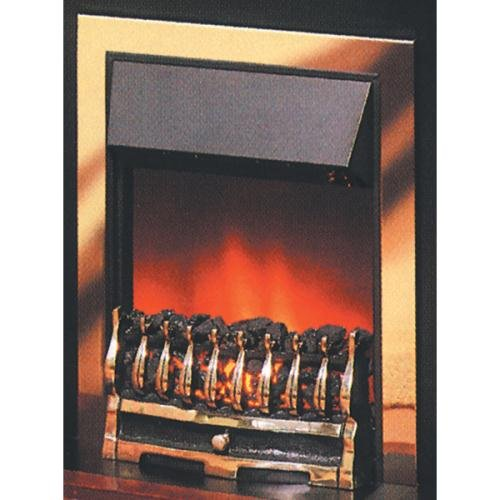 Dimplex Wynford Brass Inset Fire