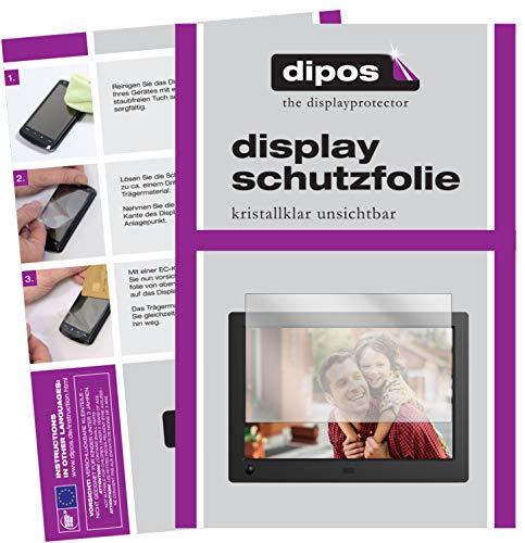 dipos I 6X Schutzfolie klar passend für NIX Advance 8 Zoll Widescreen Digitaler Bilderrahmen Folie Displayschutzfolie