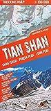 Tian Shan (Kirgisien) 1:100 000 Wanderkarte, laminiert, GPS-kompatibel TQ -
