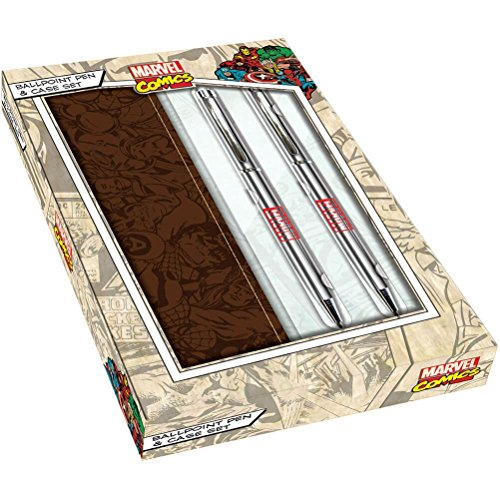 marvel-comics-box-logo-pen-set