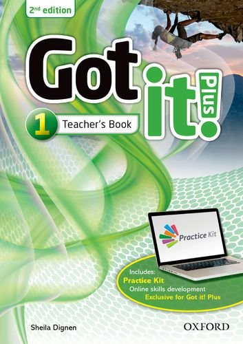 Got it! Plus: Level 1: Teacher Pack: Get it all with Got it! 2nd edition!