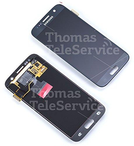 Original Samsung Galaxy S7 G930F LCD AMOLED Display Touchscreen Digitizer Schwarz Service Ersatzteil GH97-18523A