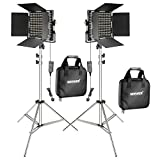 Best NEEWER Lights Video Lights - Neewer 2-Pack 660 LED Video Light with 78.7-inch Review