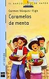 Caramelos de menta: 2 (Barco de Vapor Azul)