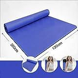 ZFGGD-Yoga-Matte Anti-Rutsch-Matten 200cm Doppel-Yoga-Matten verdickt 15mm breit 130cm Yoga-Matten Fitness-Matten Tanzmatten (Farbe : #33, größe : 15mm)