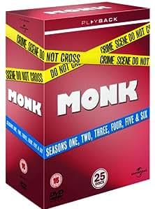 UNIVERSAL PICTURES Monk - Season 1 To 6 [DVD]