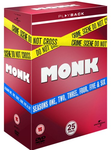Price comparison product image Monk Seasons 1-6 [DVD]