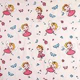 Fabulous Fabrics Organza Kinder Vorhangstoff Ballerina -