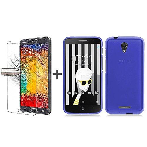tbocr-pack-custodia-gel-tpu-blu-pellicola-protettiva-per-display-in-vetro-temperato-per-alcatel-pop-