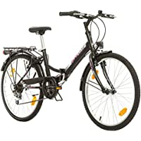 Multimarca, Folding City 24 Lady, 24 Pulgadas, 457 mm, Bicicleta de Montaña
