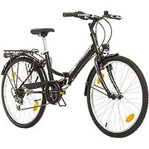 Multimarca, Folding City 24 Lady, 24 Pulgadas, 457 mm, Bicicleta de Montaña