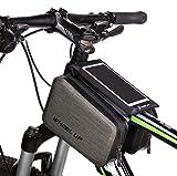Bicicleta bolsa marco bolsa tubo superior bolsa para bicicleta de montaña (se adapta Hasta...