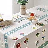 Koreanischen Stil Frische Kleine Moderne Chinesische Cafe Runden Tisch Esstische Baumwolle Tischdecken, 140 * 180 cm Hotel