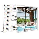 smartbox - Cofanetto Regalo - Relax e Benessere in Lombardia - Idee Regalo - 1 Notte con Colazione e 1 Momento Relax per 2 Persone
