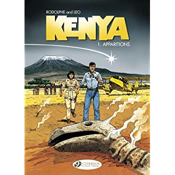 Kenya - tome 1 Apparitions (01)