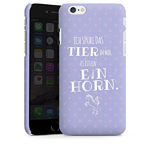 Apple iPhone X Silikon Hülle Case Schutzhülle Einhorn Spruch Unicorn Premium Case matt
