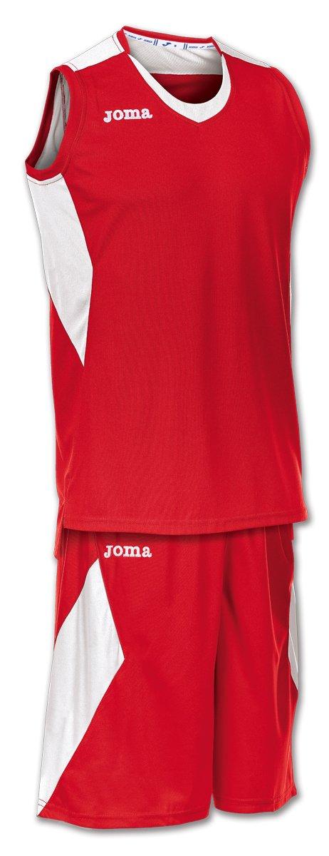 Joma Set Space Basket Red/White, Taglia: S