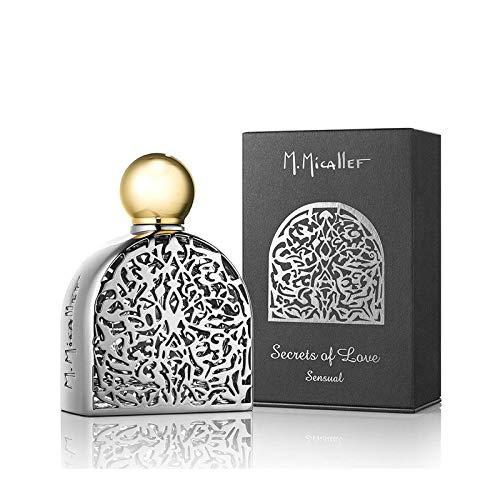 M.Micallef secrets of love sensual eau de parfum 75 ml argent EU 75 SECRETS OF LOVE SENSUAL