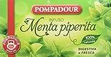 Pompadour - Infusione per Bevande Calde, Menta Piperita - 20 filtri - [confezione da 3]