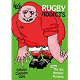 The Official Rugby Addicts (Gren's) 2016 A3 Calendar