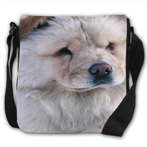 chow-chow-dog-close-up-small-black-canvas-shoulder-bag-handbag