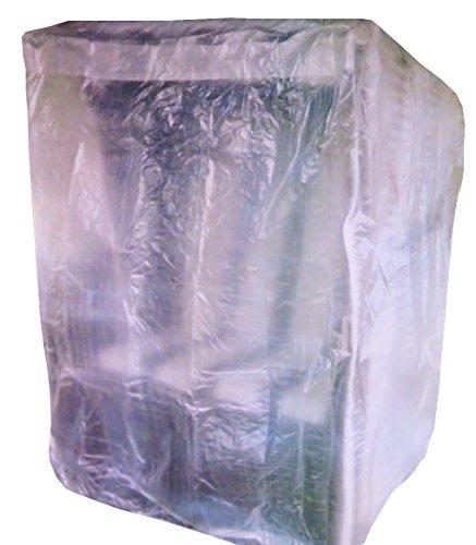 Schutzhülle für Strandkorb mit Reißverschluss Plane Garten Abdeckung Gartenmöbel transparent