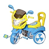 #1: Dash Kids tricycle with under seat storage space, Lights and music.