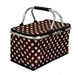 Best Picnic Baskets - Lifestyle-You™ Large Folding Aluminium Insulated Basket ~ Cooler Review
