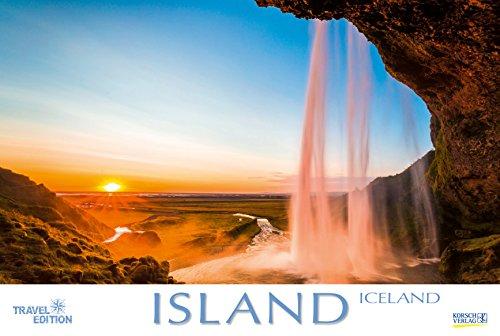 Island 2019: Großer Foto-Wandkalender mit Bildern von der Insel der vielen Vulkane. Travel Edition mit Jahres-Wandplaner. PhotoArt Panorama Querformat: 58x39 cm.