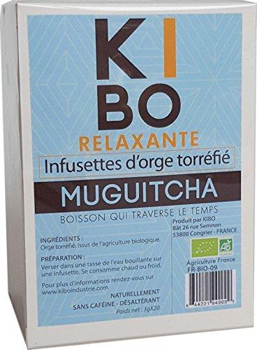 KIBO Infusettes d'orge torréfié 20 sachets
