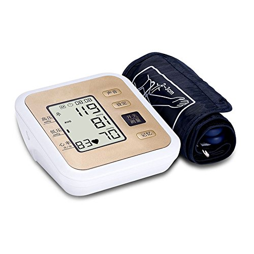 ZCCZ Oberarm Art elektronische Blutdruckmessgerät Voice Broadcast Hintergrundbeleuchtung Arm Typ Kostenlos Messgerät