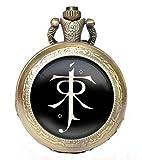 Best Regalos para las señoras antiguas - Reloj de bolsillo, mecanismo de cuarzo, diseño antiguo Review