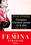 Certaines n'avaient jamais vu la mer - Prix Femina Etranger 2012