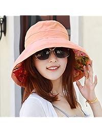 Sombrero De Mujer Sra. Cap Sombrilla De Verano Sombrero Grande Sombrero De  Doble Cara Protección 910812ca04a