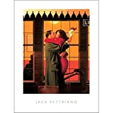 L'AFFICHE ILLUSTREE Jack Vettriano ' Back where You Belong ' Stampa Artistica in offset cm. 60x80 cod118060 COPIA ORIGINALE PRODOTTA DA JACK VETTRIANO Tutte le stampe con testo info dell'opera garanzia di edizione AUTORIZZATA