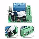 Bluelover Dc12V 10A 1Ch 433Mhz Récepteur De Commutation Télécommandé À Distance Rf Rf