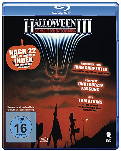Halloween 3 - Die Nacht der Entscheidung (Uncut) [Blu-ray] (Of The Witch Film Halloween-season)