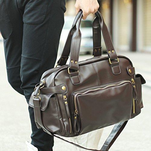 RTZLL Umhängetasche Umhängetaschen Umhängetasche Männer Baodan Männer Taschen bulk Dark Brown