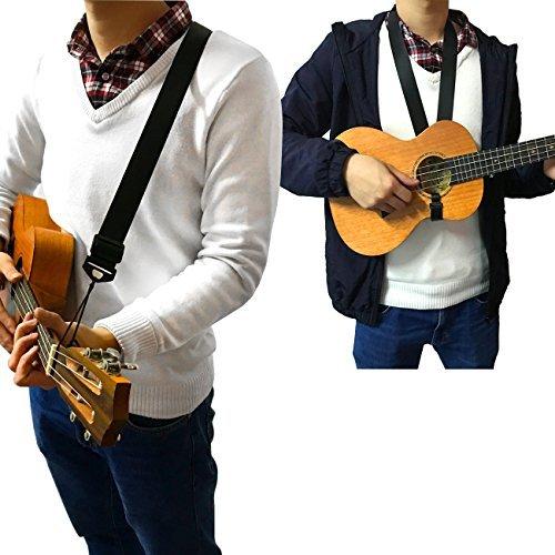 Doppelnutzung verstellbaren Nylonband Ukulele - kann sein Gebrauch als Ukulele Umhängeband oder Ukulele-Schultergurt