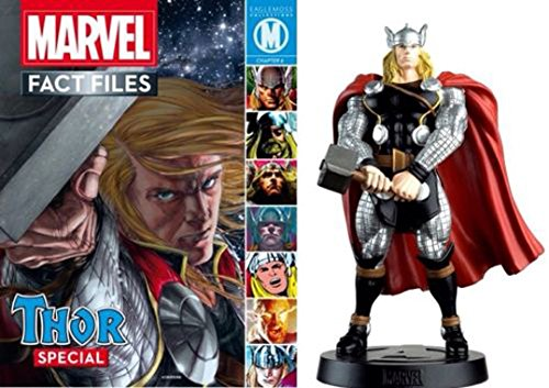Figura de resina marvel fact files collection Thor