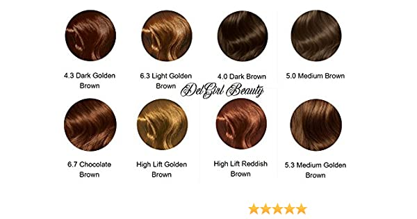 3 boxes of Avon Advance Techniques Professional Hair Colour / Dye Available  in EVERY COLOUR! (High Lift Golden Brown)
