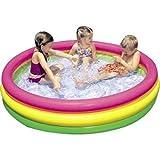 #5: dhawani Inflatable Water Pool 4 Ft (Diameter) Kids Bath Activity Water Pool For Fun Activities