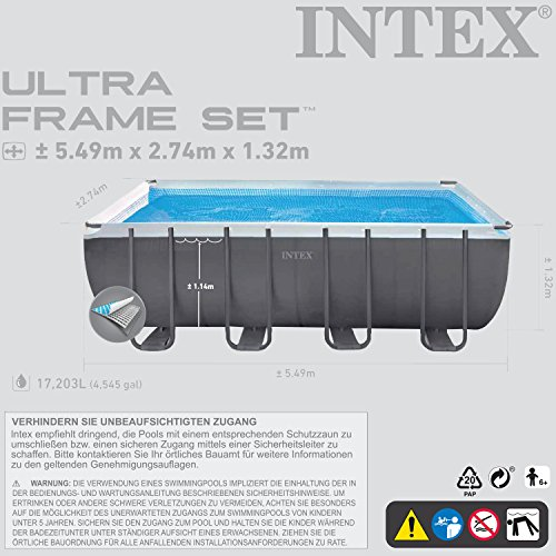 Intex 28911. GH Above Ground Pool – Above Ground Pools - 5