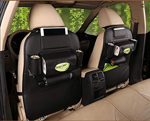 Auto Rücksitz-Organizer Autositz-Rückentasche Multifunktions-Aufbewahrungstasche Aufbewahrungstasche Rücken Schmutz Kleinigkeiten Tasche, bl -